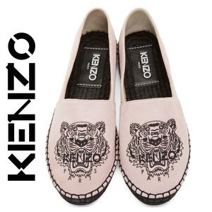 KENZO | Authentic Tiger Embroidered Espadrille